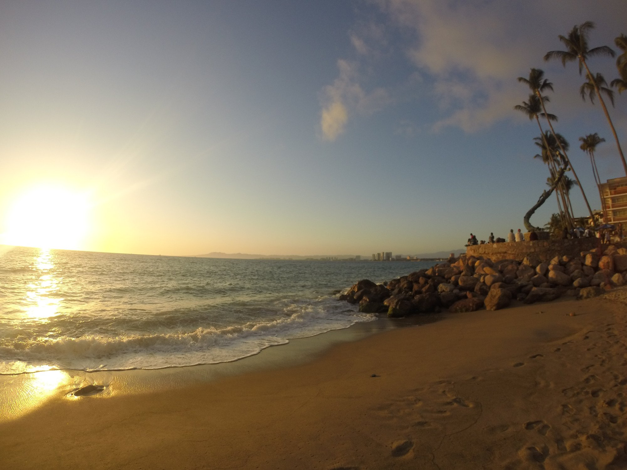 Puesta de sol en Puerto Vallarta