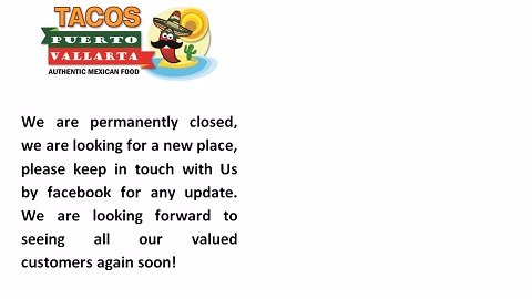 We are closed permanently. Thanks