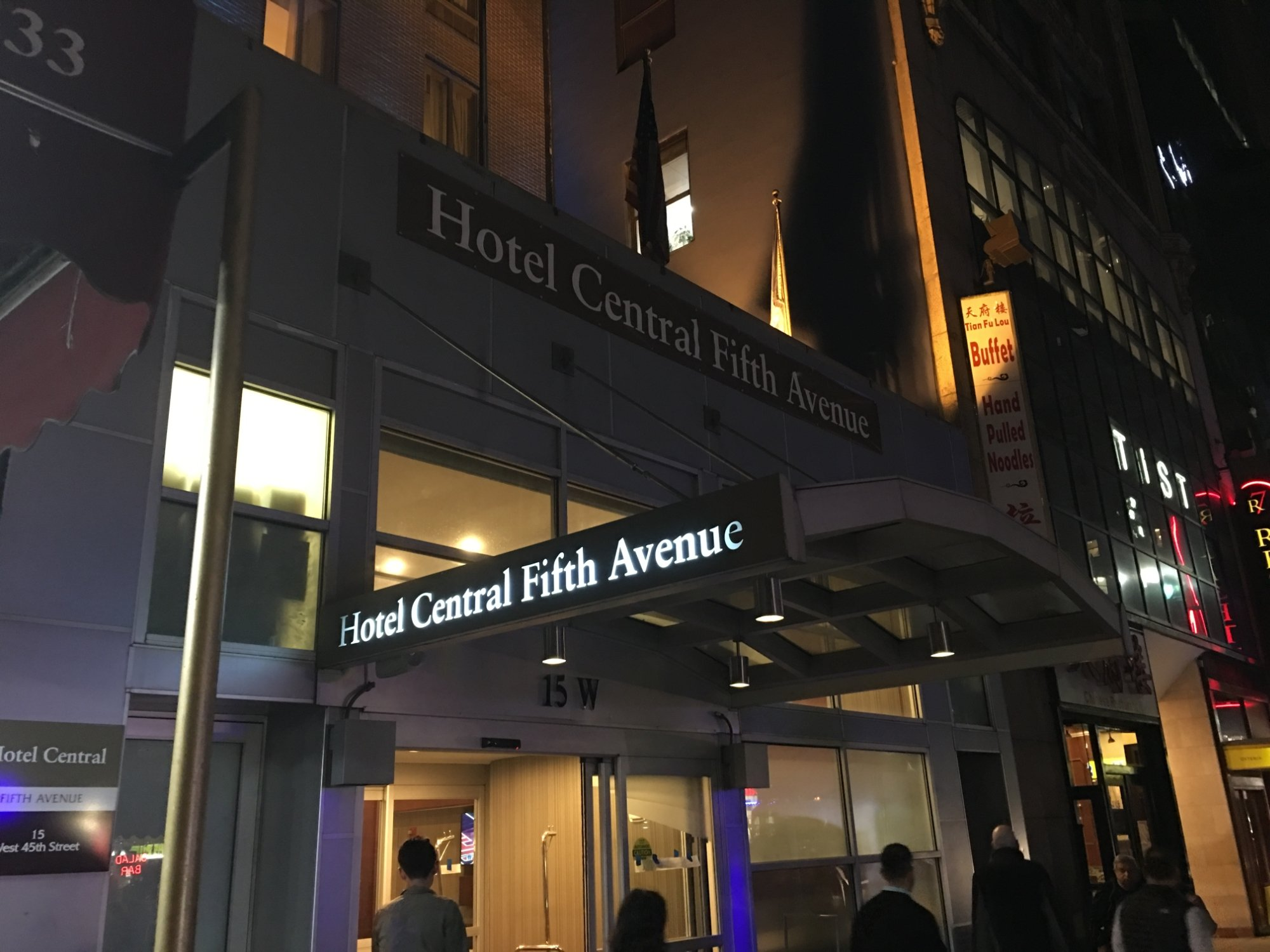 Hotel Central Fifth Avenue New York