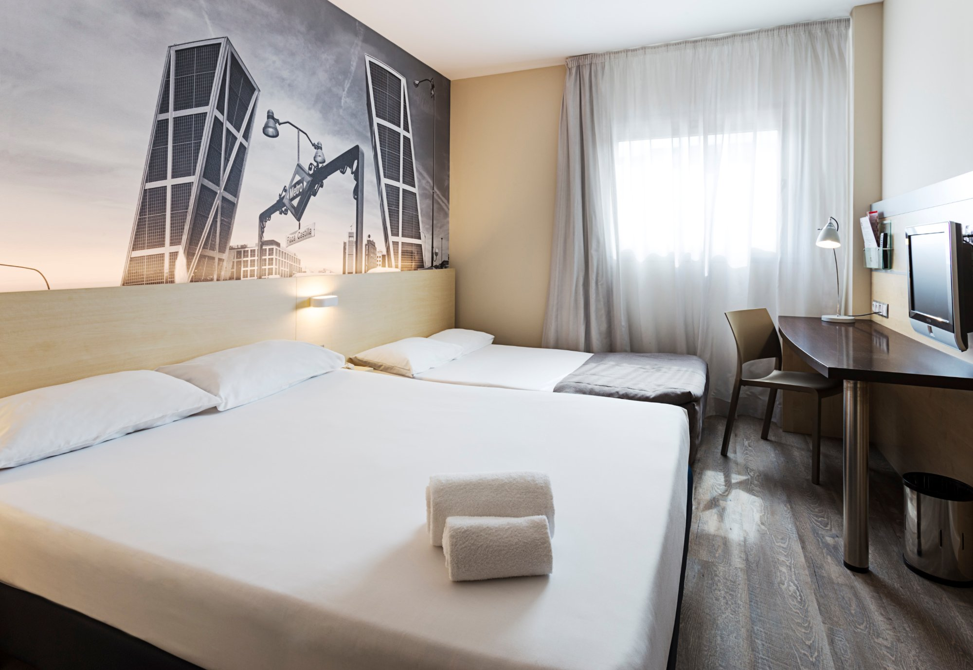 B&B Hotel Madrid Airport T1 T2 T3