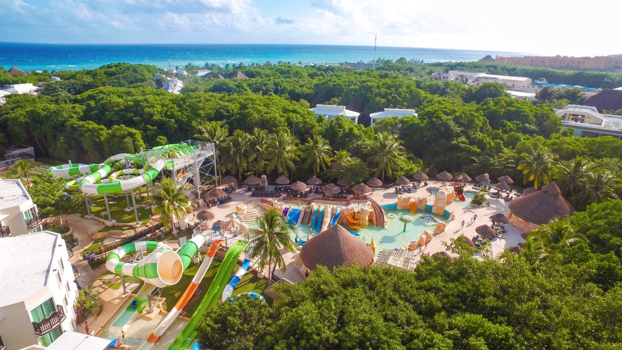 Spring Break in Mexico with Kids travel guide featured by top US family blogger, Marcie in Mommyland: Sandos Caracol Eco Resort is a kid-friendly Mexico Resort perfect for Spring Break