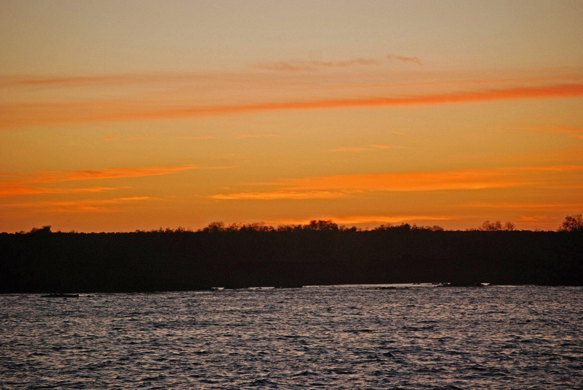 Punta Espinoza  /  Fernandina Island  -  a sunset
