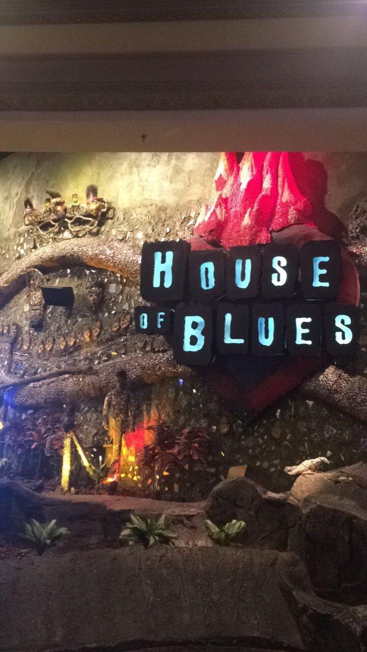 house of blues restaurant & bar, las vegas - restaurant reviews
