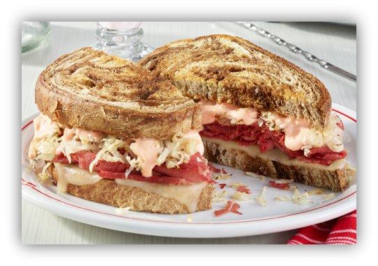 Frisch's Big Boy Classic Reuben Sandwich