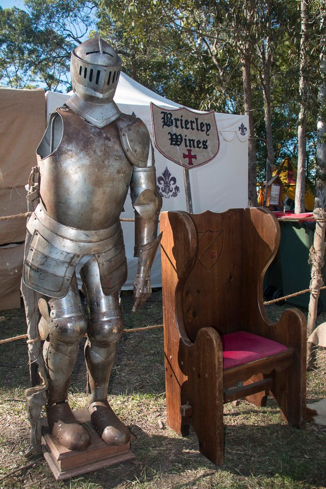 You can meet many a Knight in Shining armour at the Abbey Medieval Festival