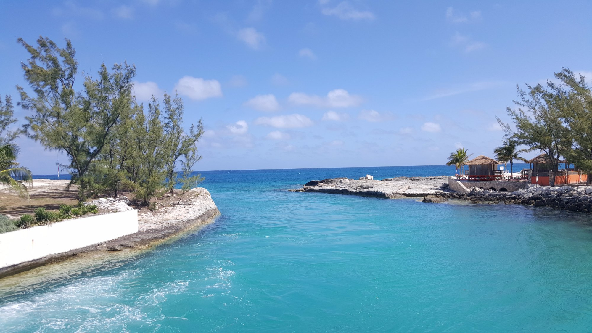 This Picture is taken at docking station of Cococay Island in Great Bahamas.