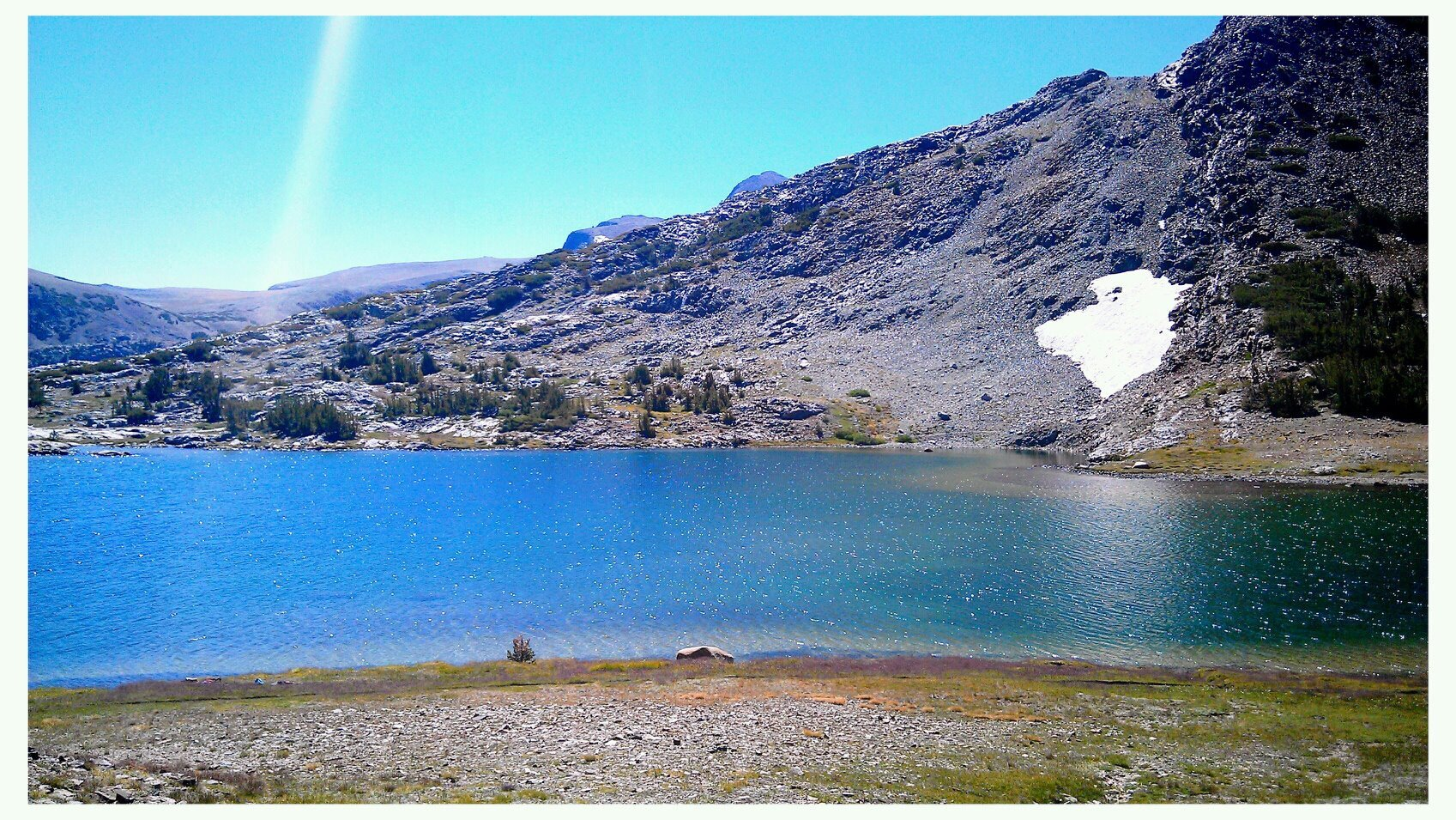 Upper Gaylor Lake, Yosemite NP