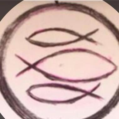 Tre pesci e il testo della farinata... in un simbolo la nostra essenza