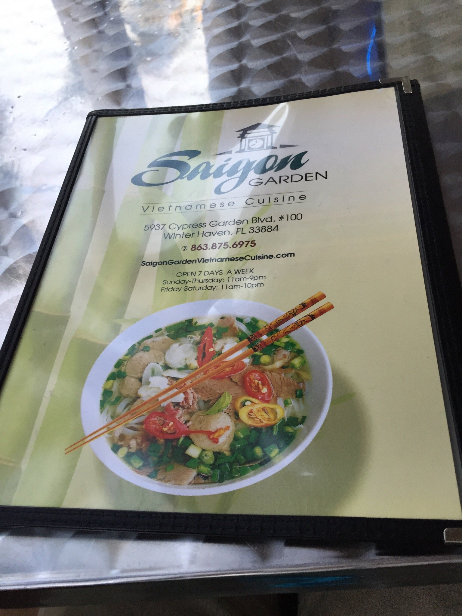 saigon garden winter haven restaurant reviews phone number