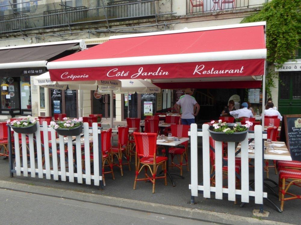 Cote jardin saumur restaurant reviews phone number for Cafe jardin menu