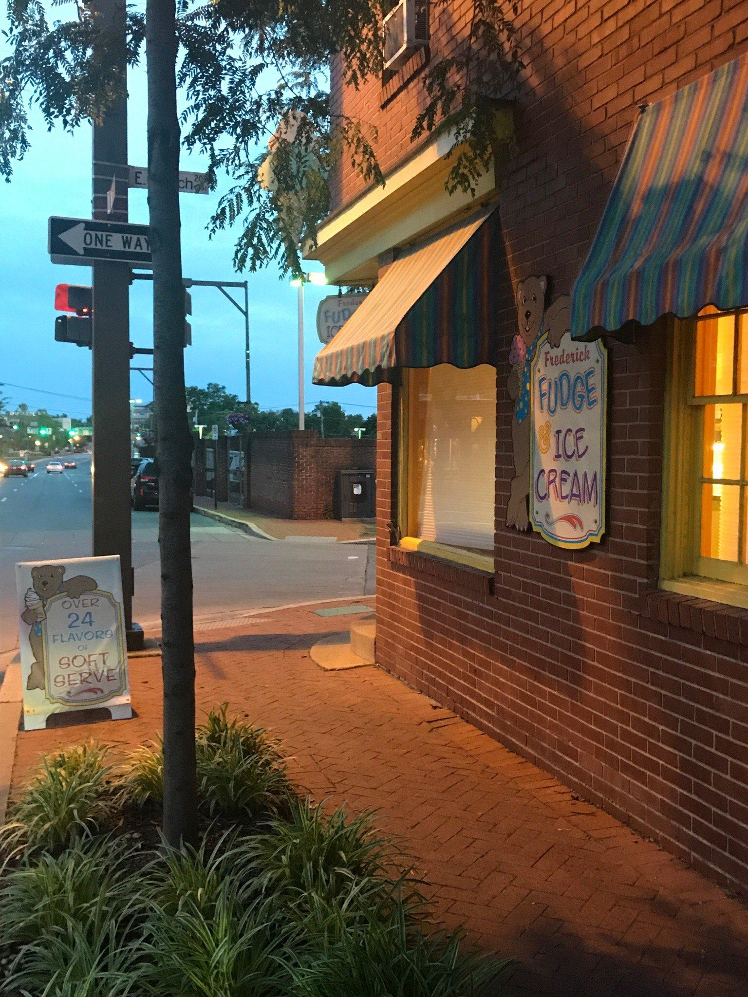 frederick fudge ice cream co restaurant reviews phone number