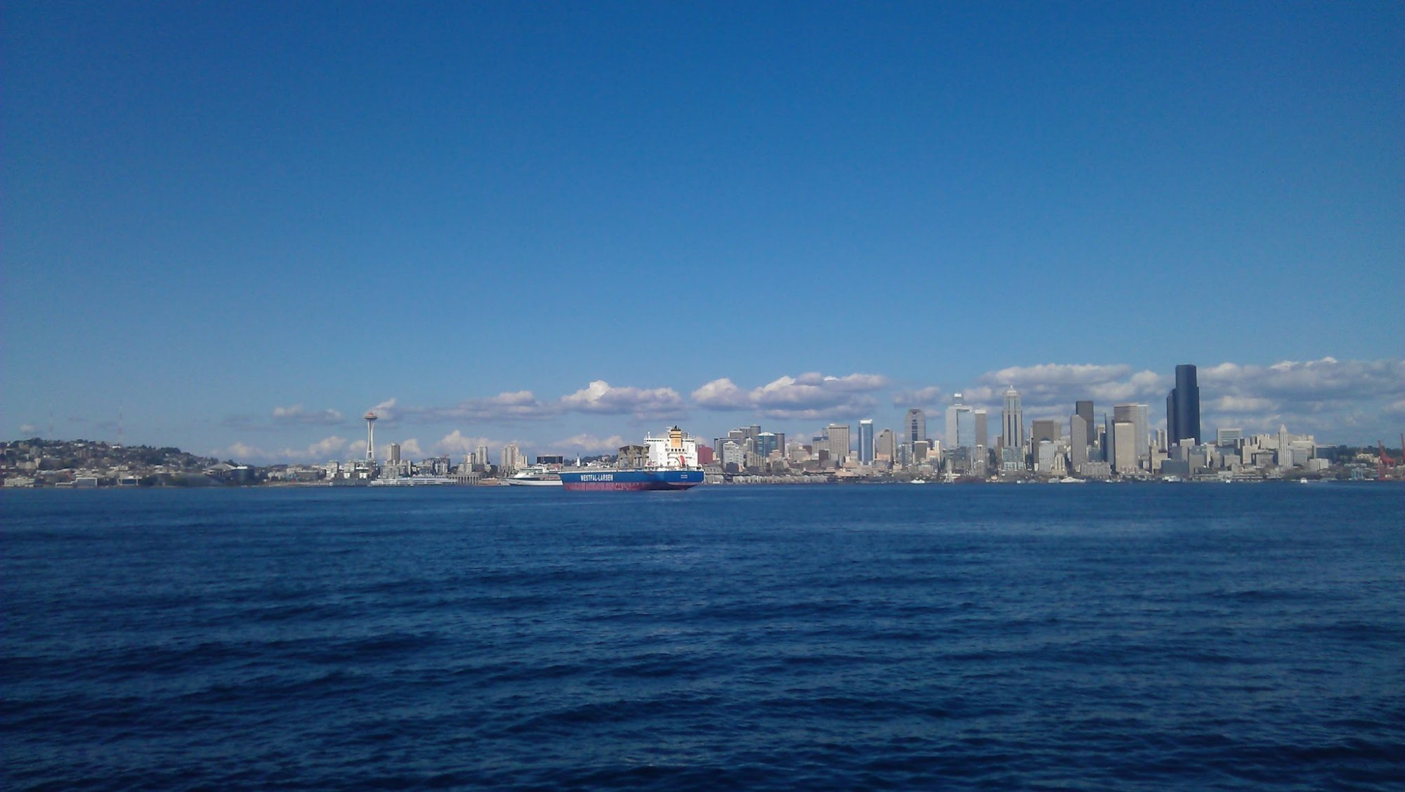 Seattle Waterfront View !