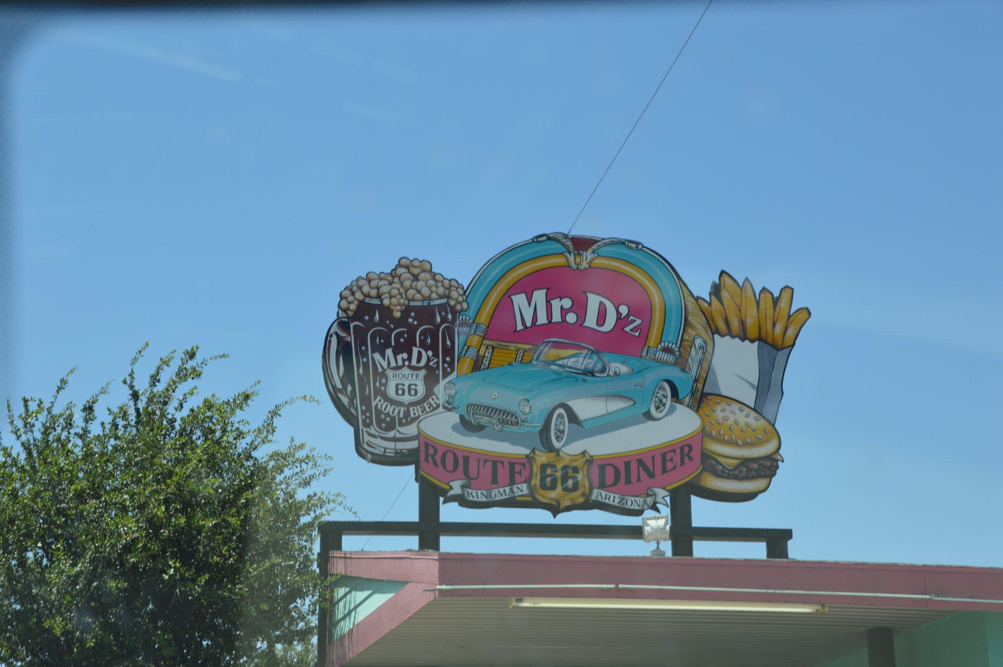 Mr.D'z Route 66 Diner Kingman Arizona