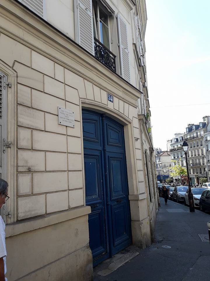 Street view, Vang Gogh's house in Paris