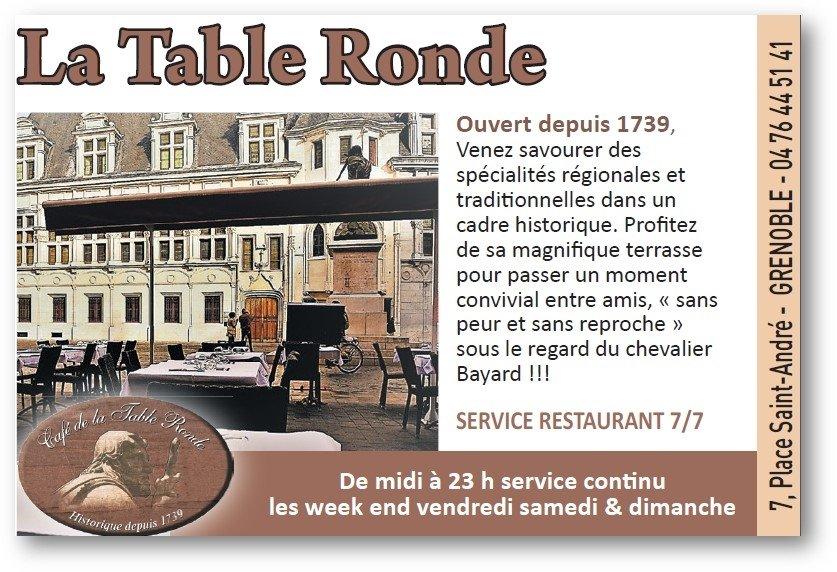Cafe De La Table Ronde Grenoble Restaurant Reviews Phone Number Photos Tripadvisor