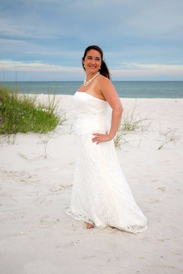 Bridal Photography, Beach Wedding Photography