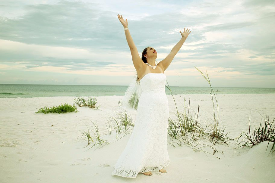 Bridal Photography, Beach Wedding Photography