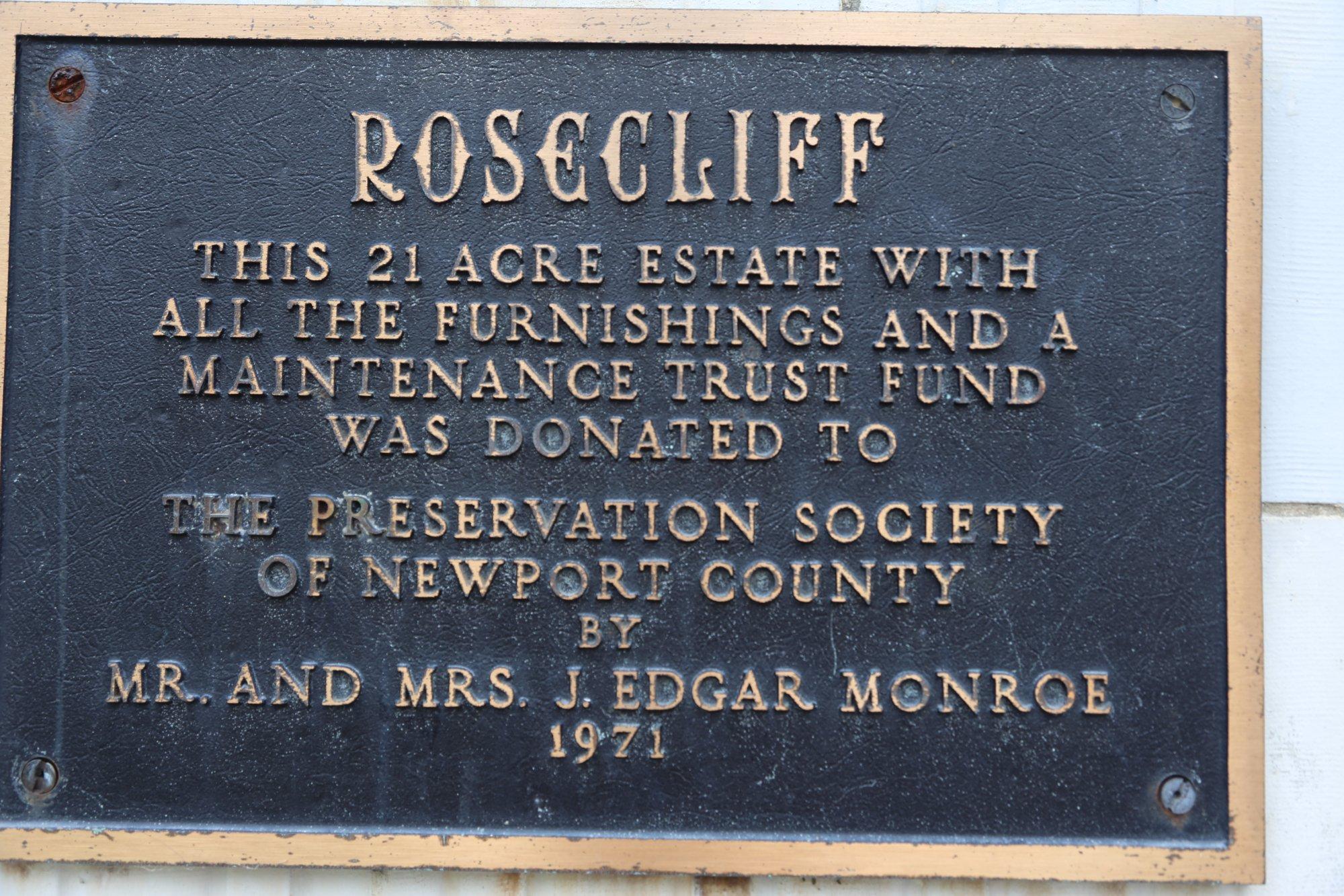 RoseCliff Mansion Summer Home Newport, Rhode Island