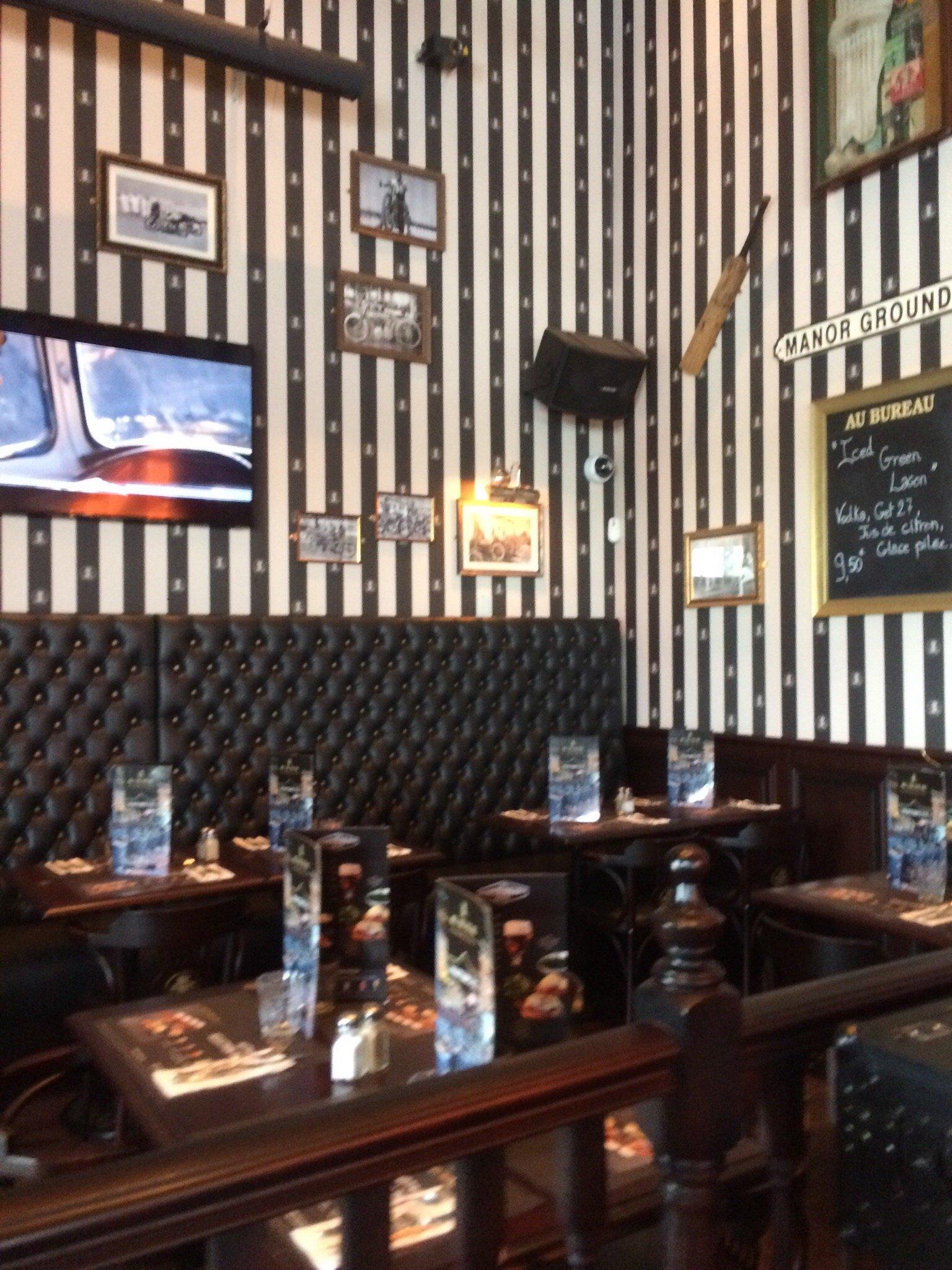 Au bureau cormeilles cormeilles en parisis restaurant for O bureau restaurant