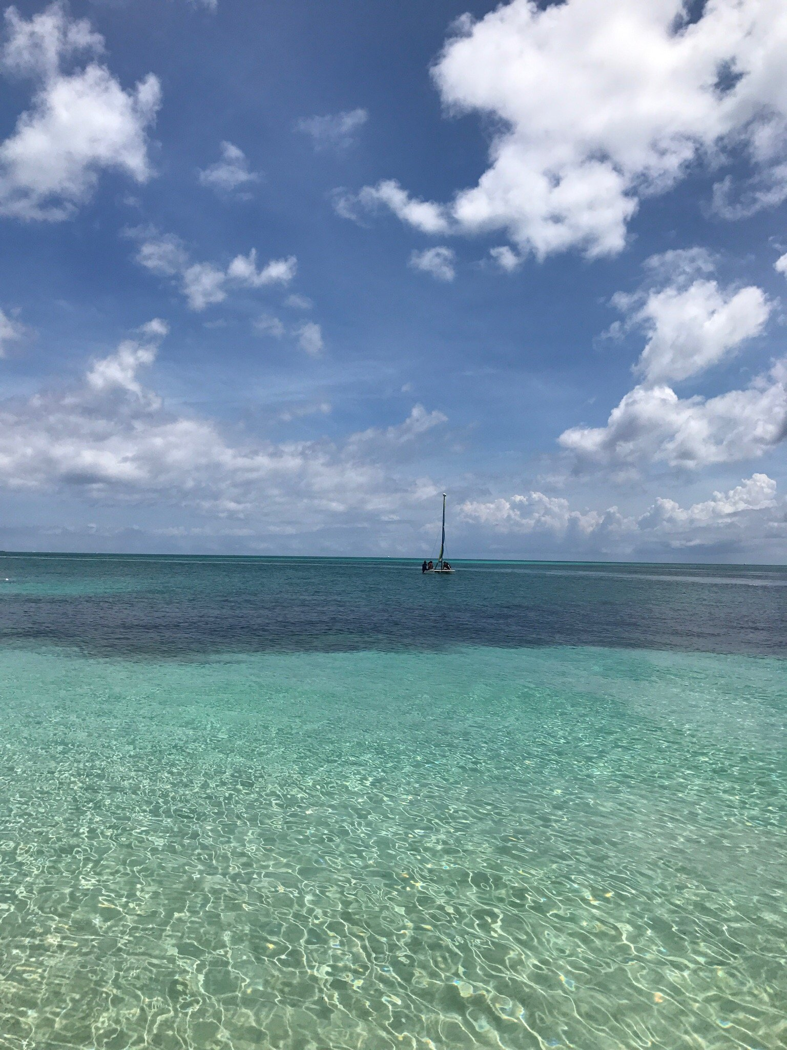 Bahamas on a summer day