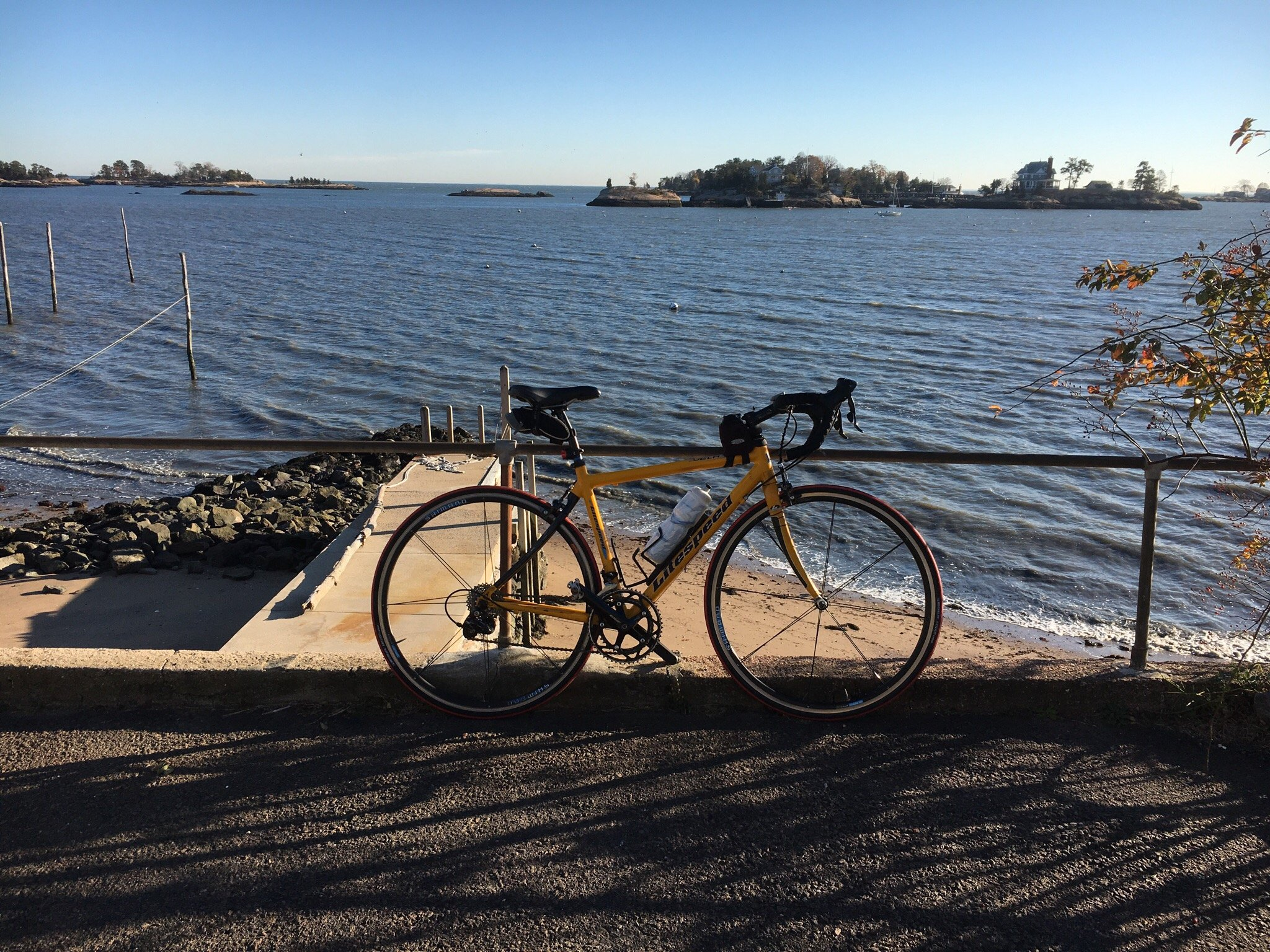 CT Bike Tour at the Thimble Islands, Branford
