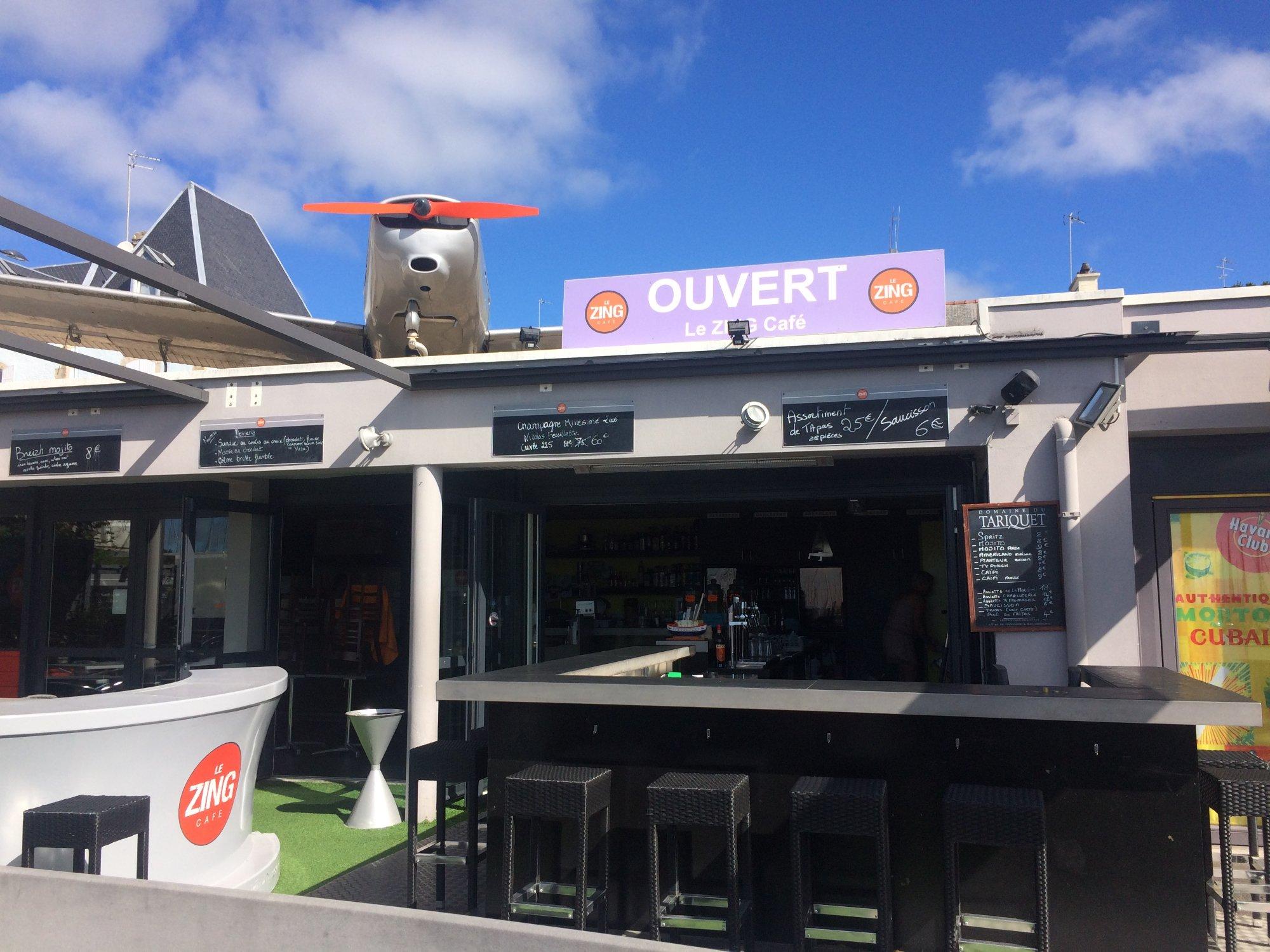 Le Zing Café La Trinite sur Mer Restaurant Avis Numéro de
