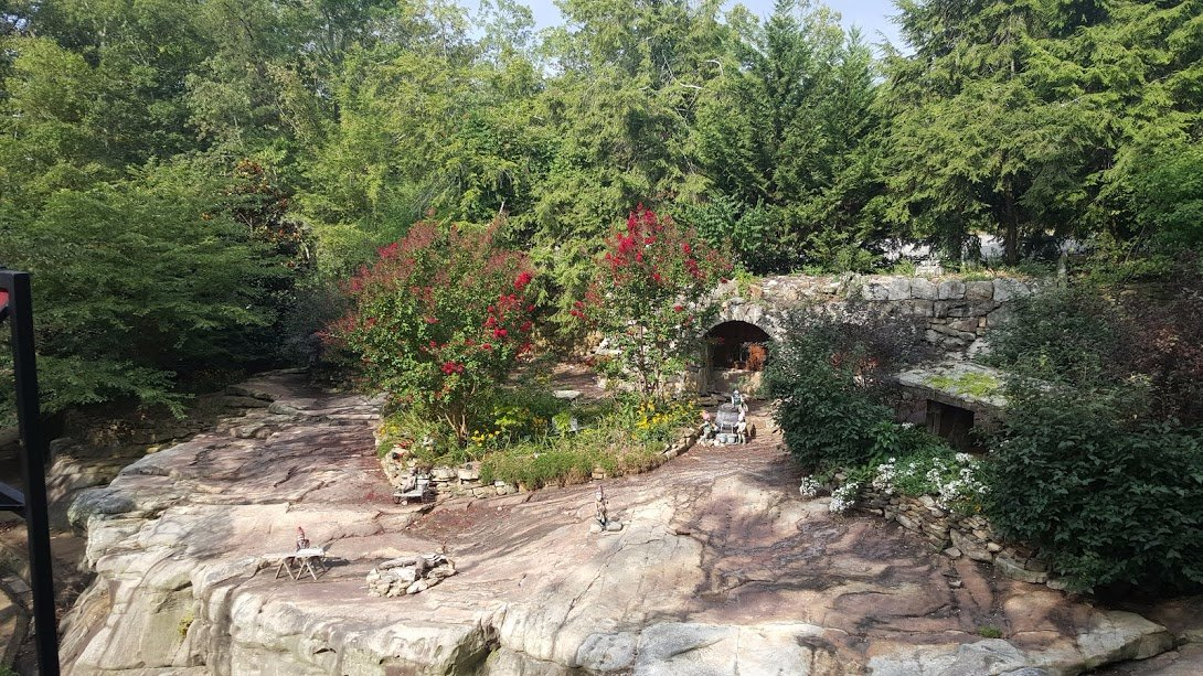Rock city at Chattanooga