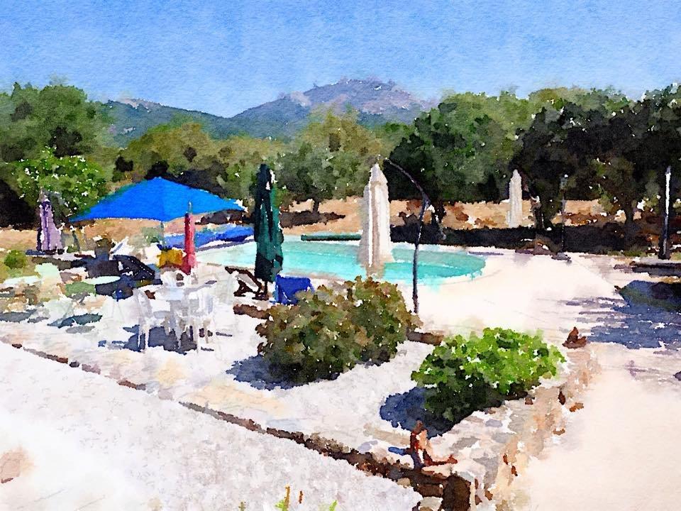 La casaloha b b galeria france voir les tarifs 28 for Aquarelle piscine hotel seneffe
