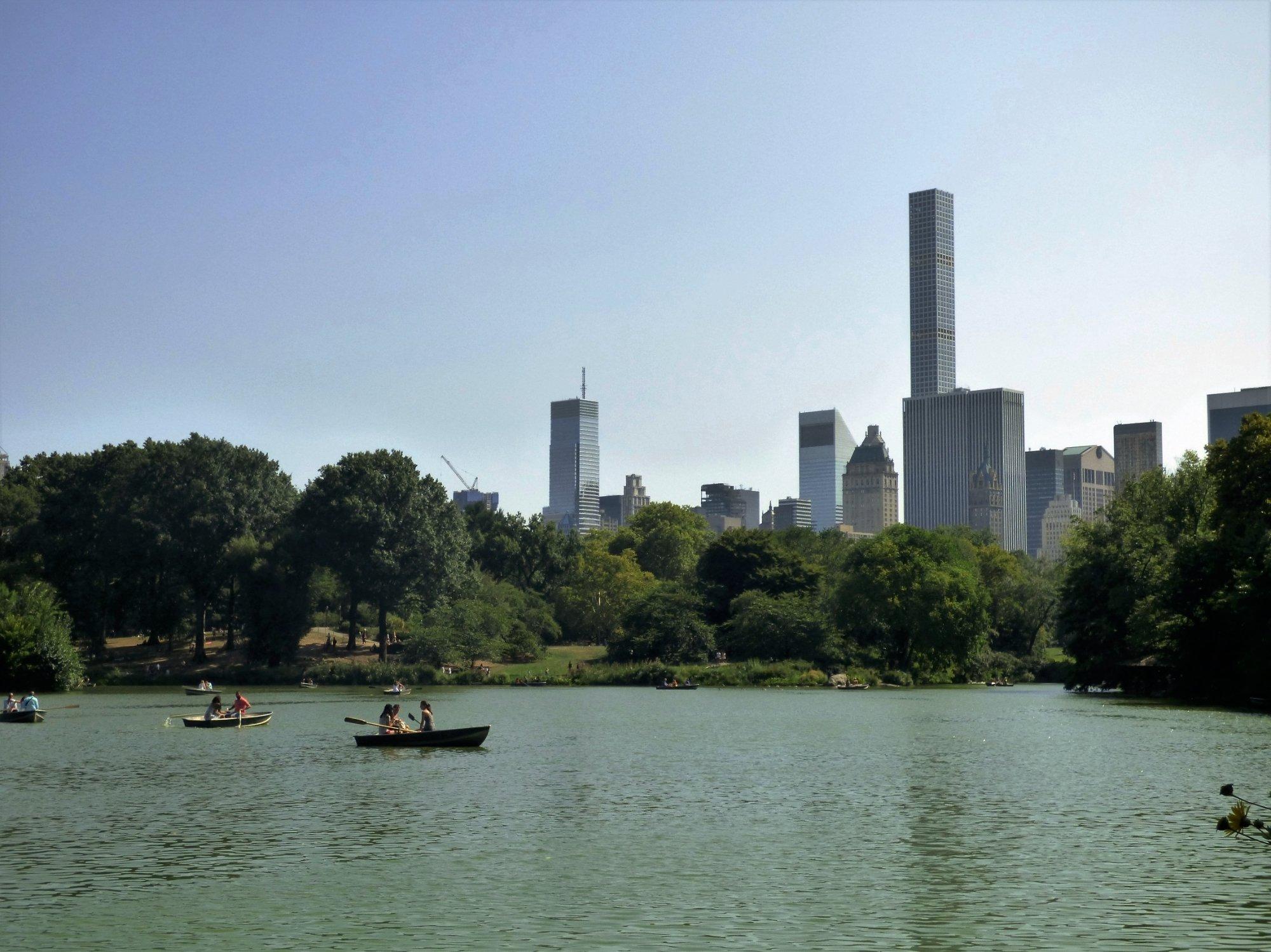 Manhattan Skyline from Central Park