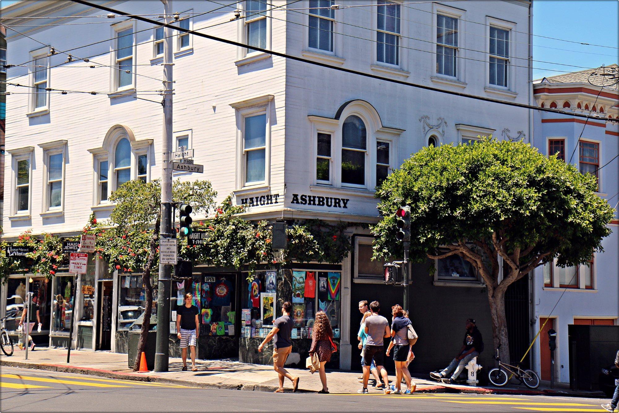 The Haight- Asbury