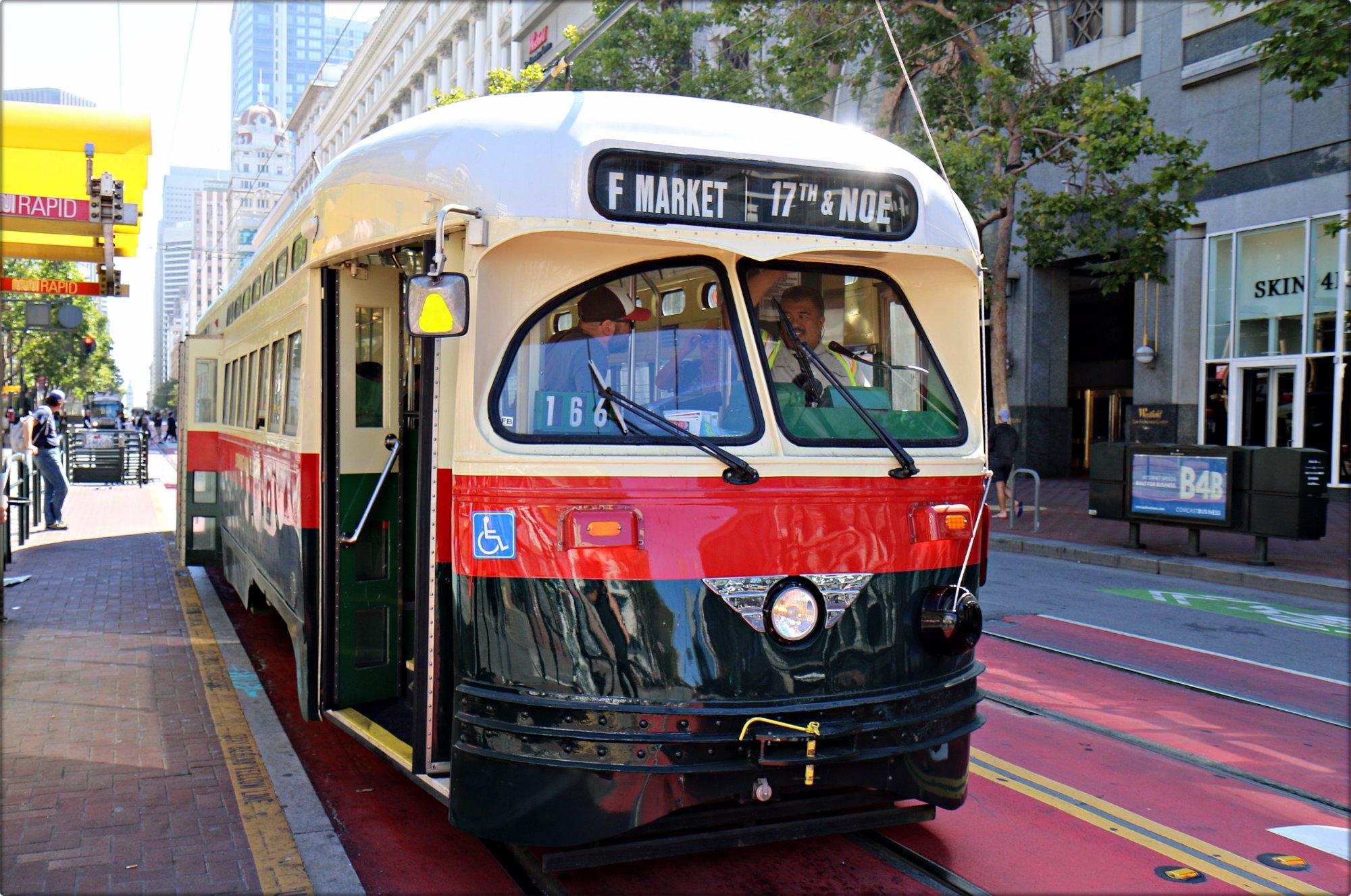 San Francisco Railway Streetcar