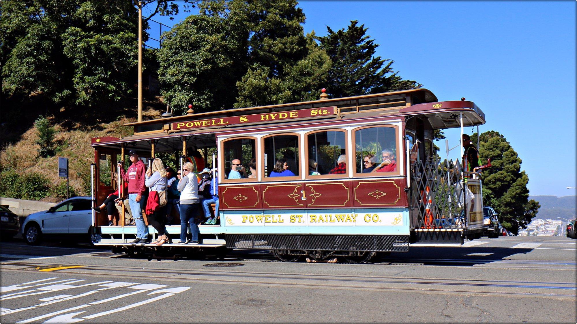 San Francisco Cable Car.