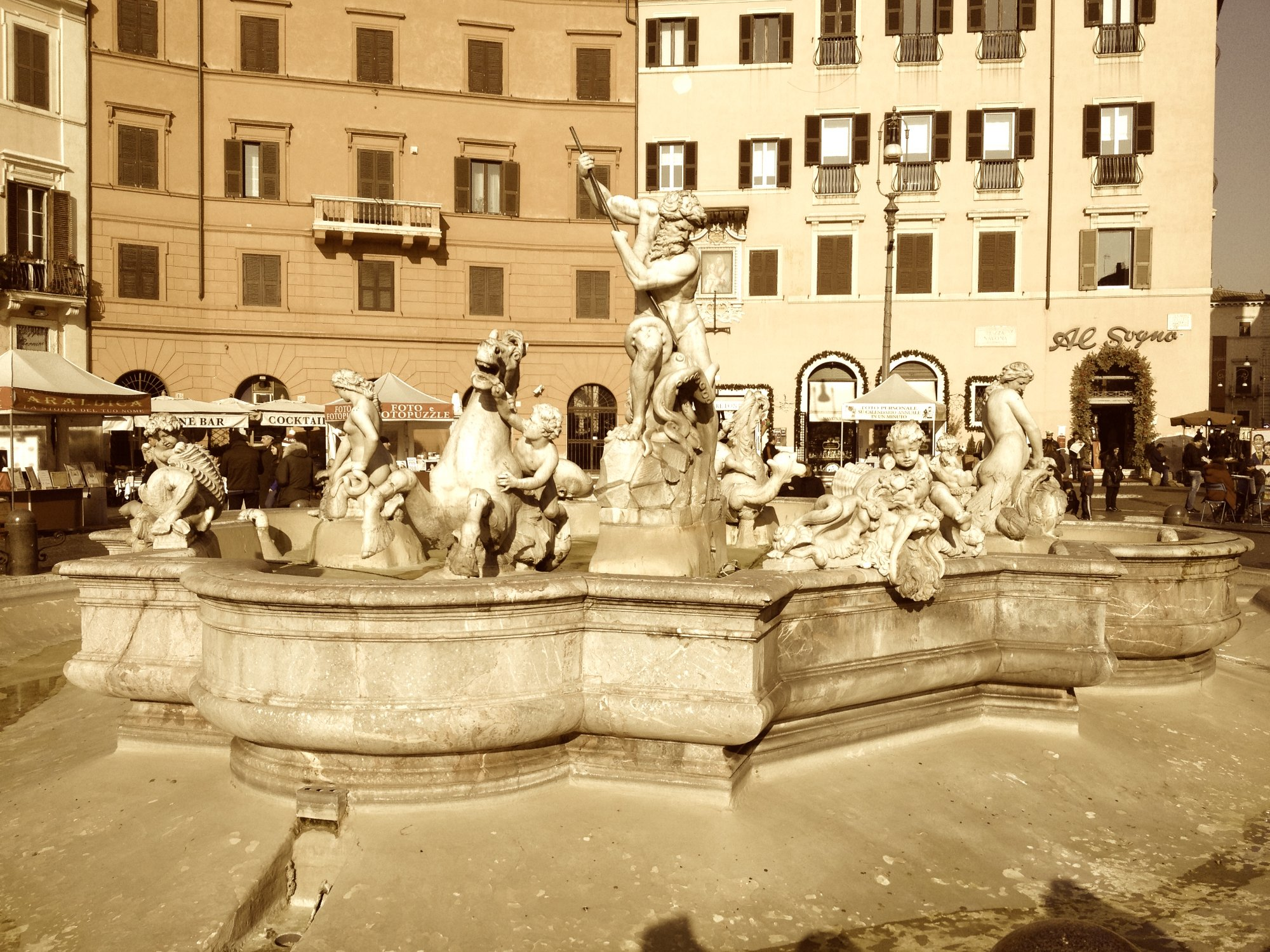Neptune Fountain, Piazza Navona