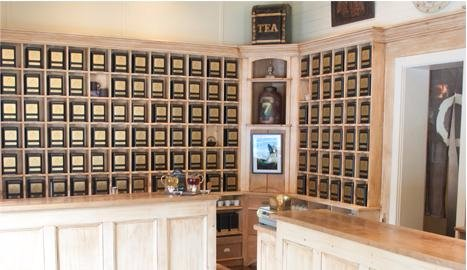 Harney and Sons Tea Tasting Room