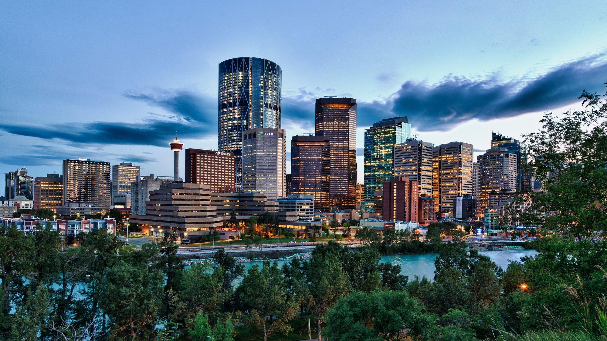City og Calgary Downtown
