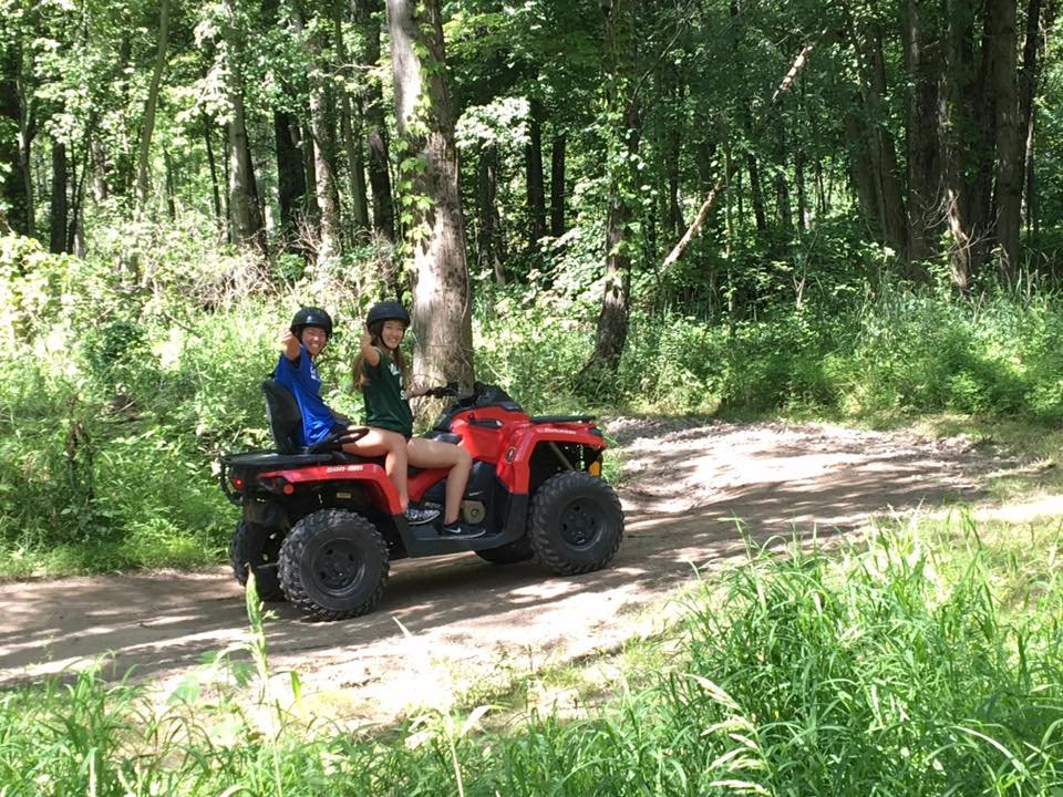 KJC,  ATV at South Haven, Michigan
