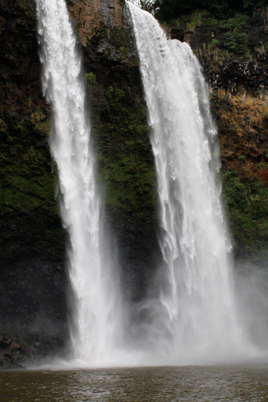 At the base of Wailua Falls