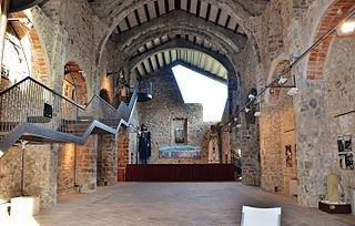Església vella de Castellfollit de la Roca
