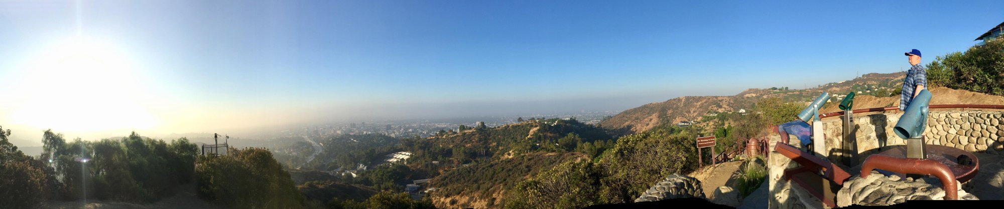 An amazing 360° view in Hollywood