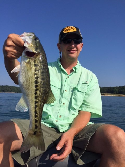 One of Many Big Spotted Bass