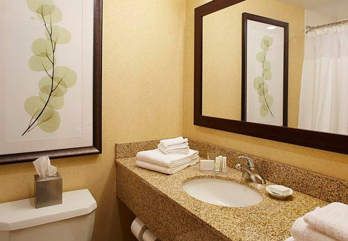 Courtyard ithaca airport university updated 2017 hotel for Bathroom 4 less review