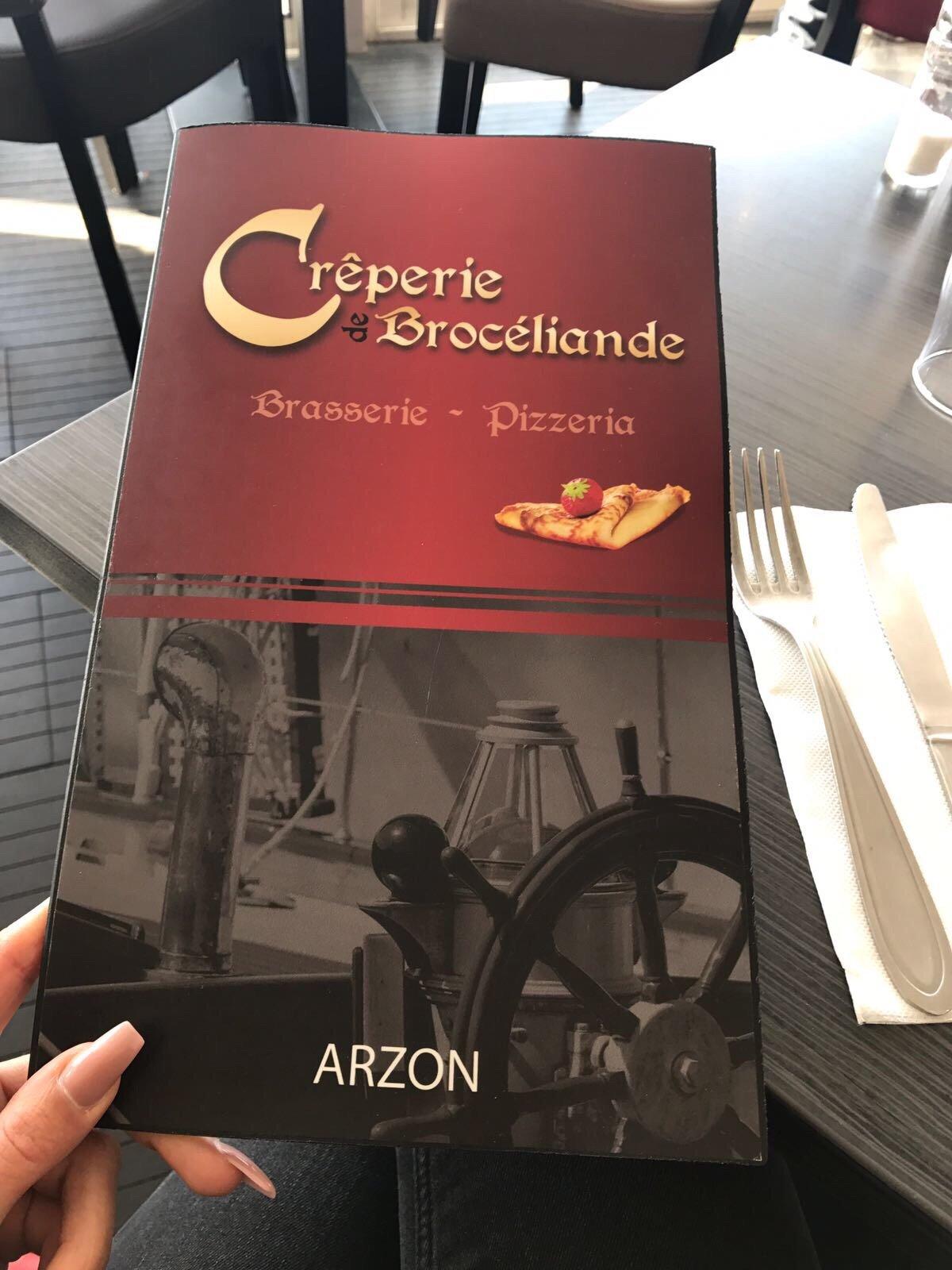 Crªperie de Brocéliande Arzon Restaurant Avis Numéro de