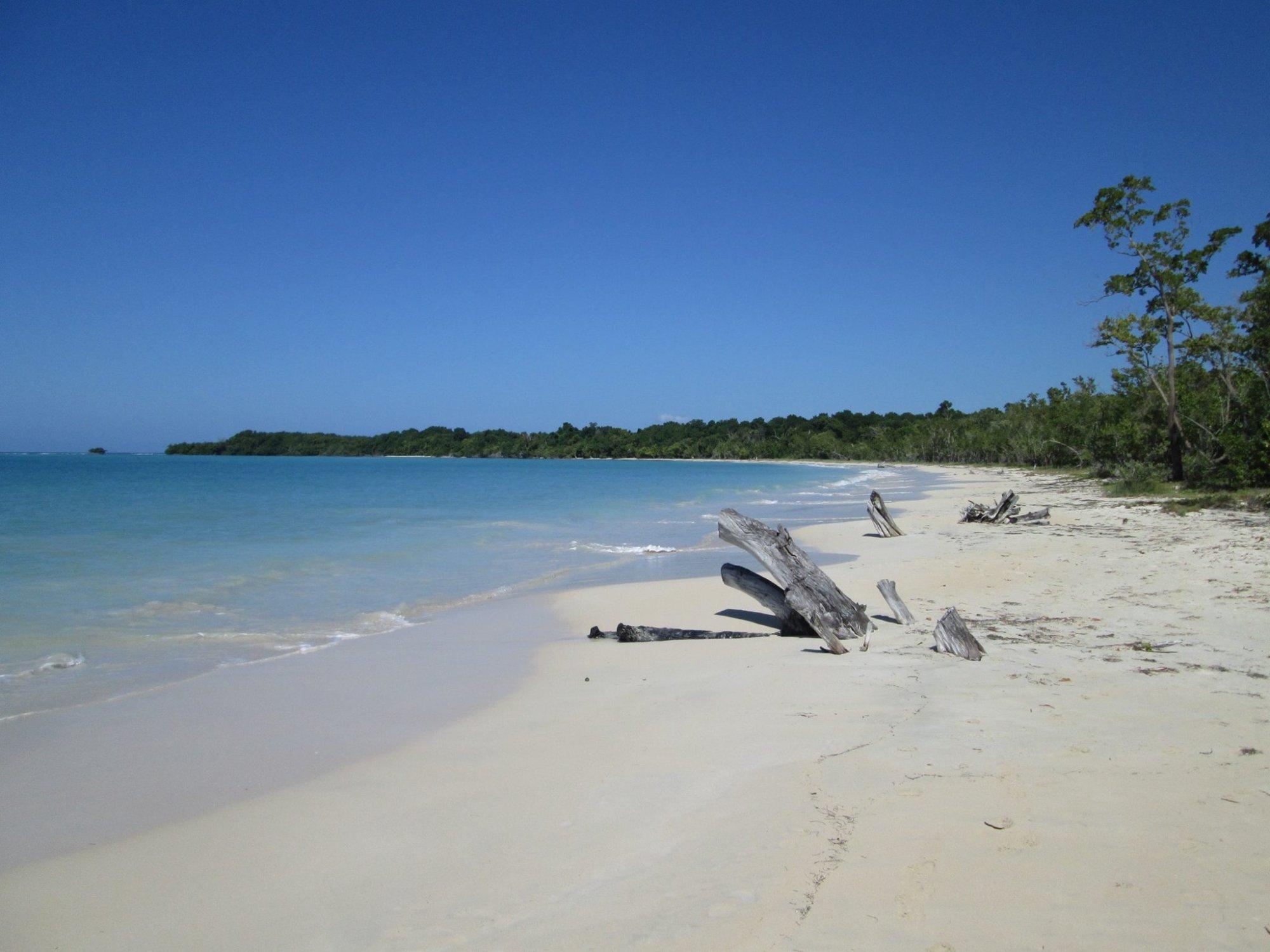Beach just beyond Sandals Whitehouse, Jamaica