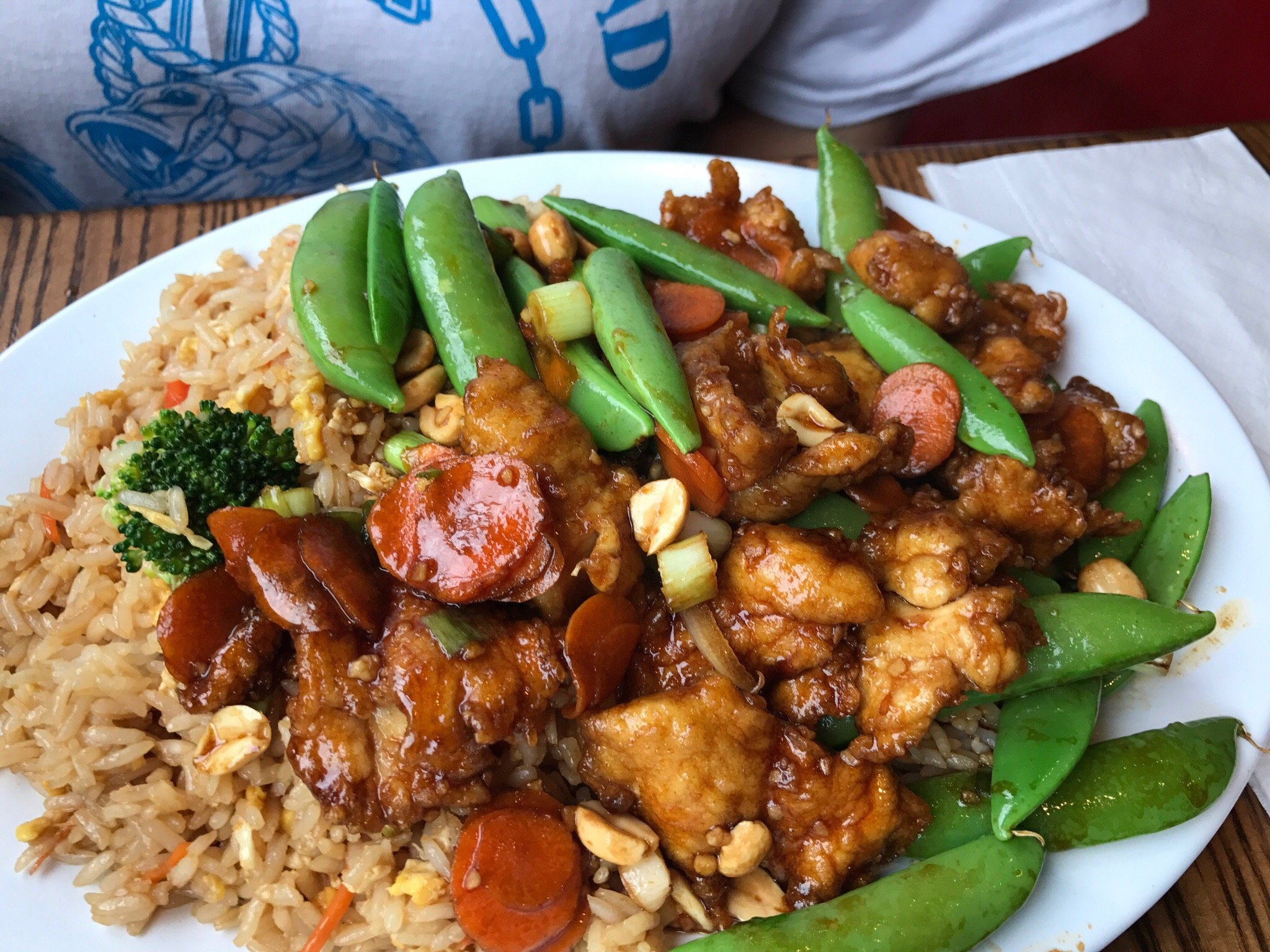 Pei wei asian diner tulsa omd men om restauranger for Asian cuisine tulsa ok