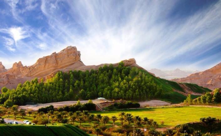 Green Mubazzarah Chalets Al Ain Verenigde Arabische