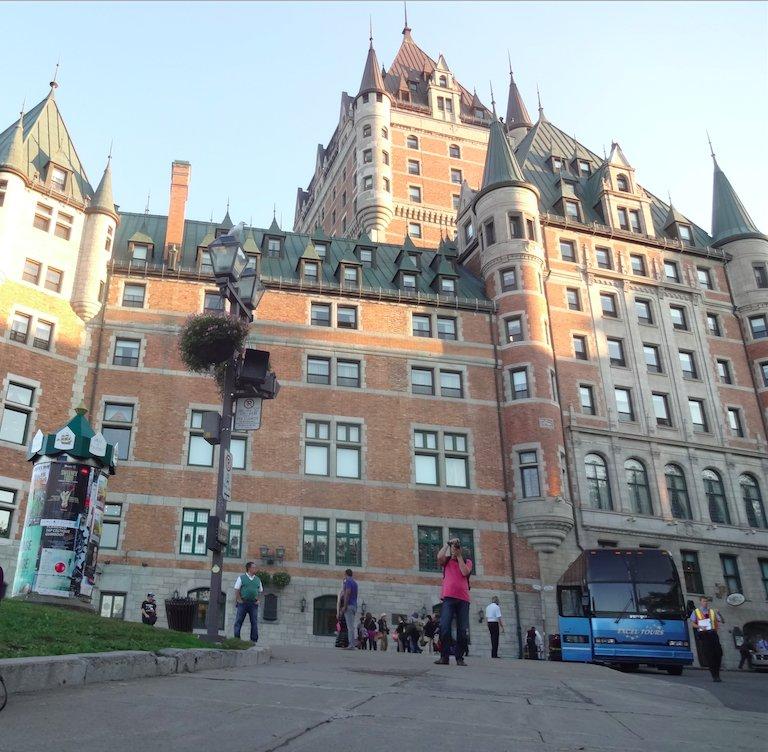 ケベックで一番有名なフェアモント