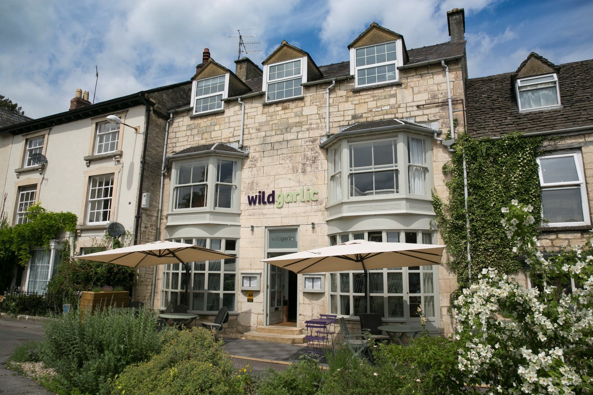 Wild garlic bistro rooms nailsworth restaurant for Terrace 45 menu