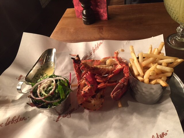 Restaurants burger lobster in city of london westminster for American cuisine london