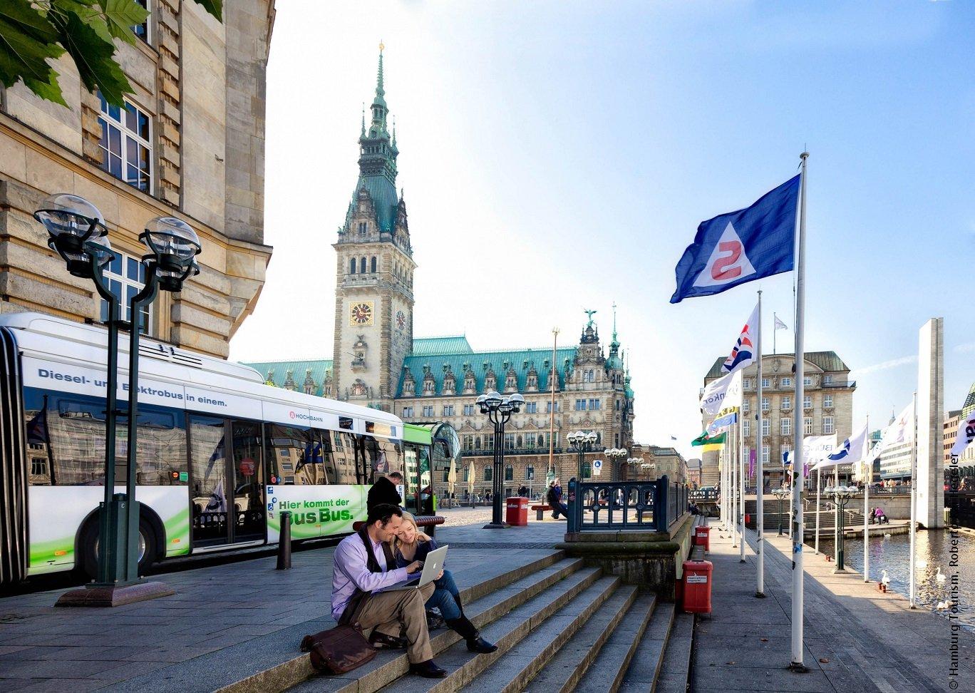 Hamburg's Town Hall