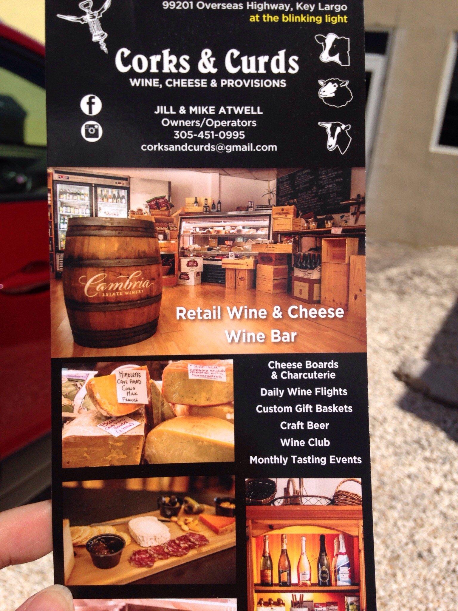 corks u0026 curds wine cheese u0026 provisions key largo restaurant